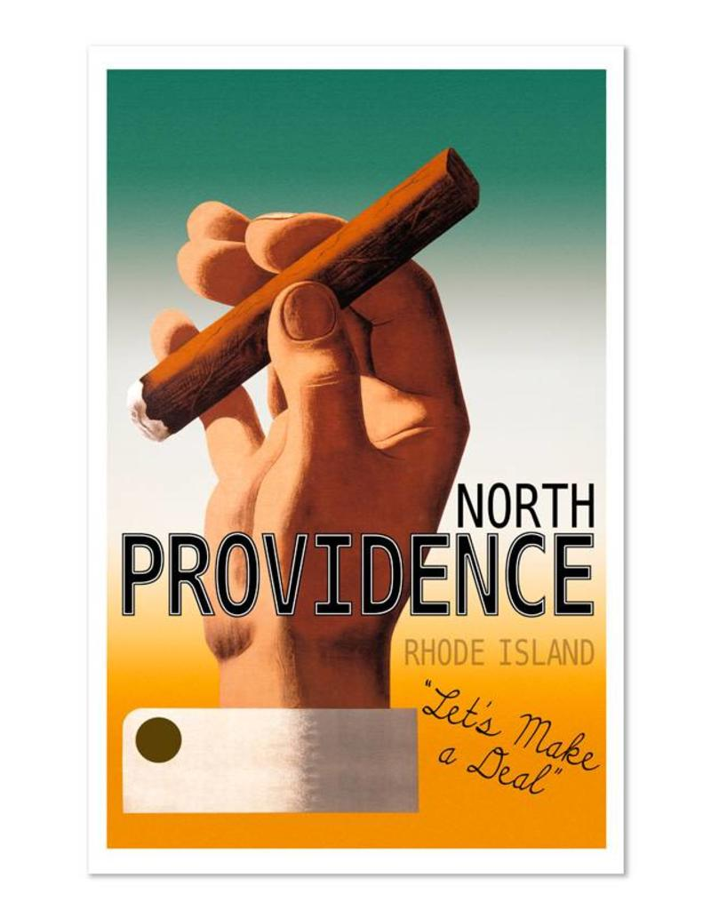 Frog & Toad Design North Providence Magnet
