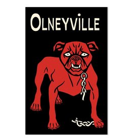 Frog & Toad Design Olneyville Dog Magnet