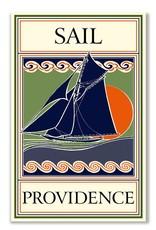 Frog & Toad Design Sail Providence Magnet