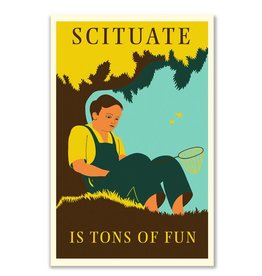 Frog & Toad Design Scituate Magnet