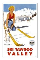 Ski Yawgoo Valley Magnet