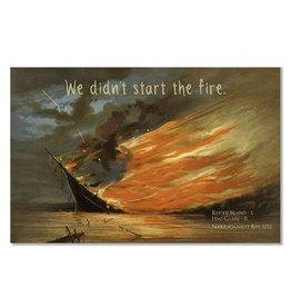 Frog & Toad Design The Burning of the Gaspee Magnet