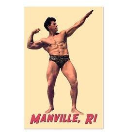 Frog & Toad Design The Manville Bodybuilder Magnet