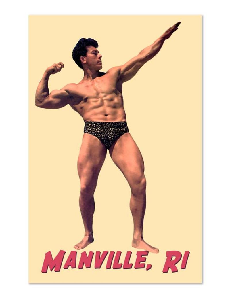 Frog & Toad Design The Manville Bodybuilder Magnet