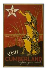 Frog & Toad Design Visit Cumberland Magnet
