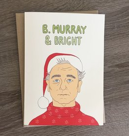 Fine Ass Lines B. Murray & Bright Greeting Card