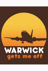 Warwick Gets Me Off Magnet