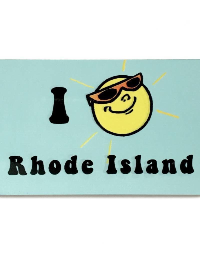 Jim Spinx I Sun Rhode Island Magnet
