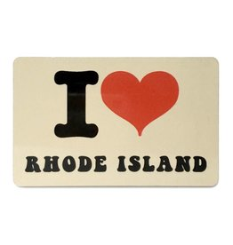 Jim Spinx I Heart Rhode Island Magnet