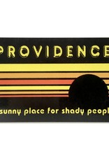 Jim Spinx Shady Providence Magnet - Black