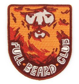 Mokuyobi Threads Full Beard Club Patch