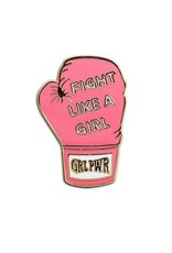 The Found Enamel Pin - Fight Like A Girl
