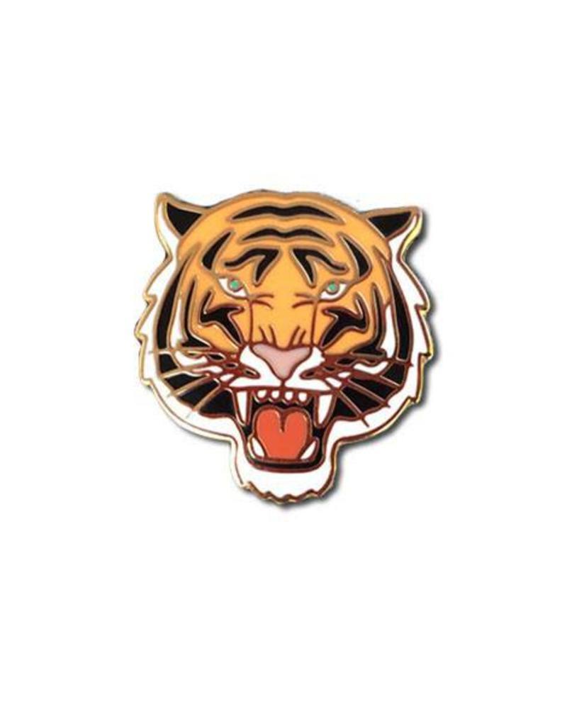 The Found Tiger Enamel Pin