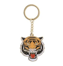 The Found Tiger Keychain