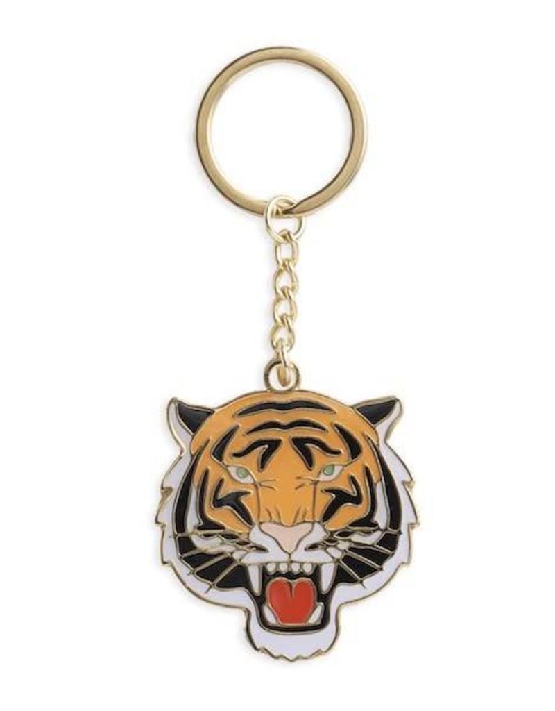 The Found Tiger Keychain