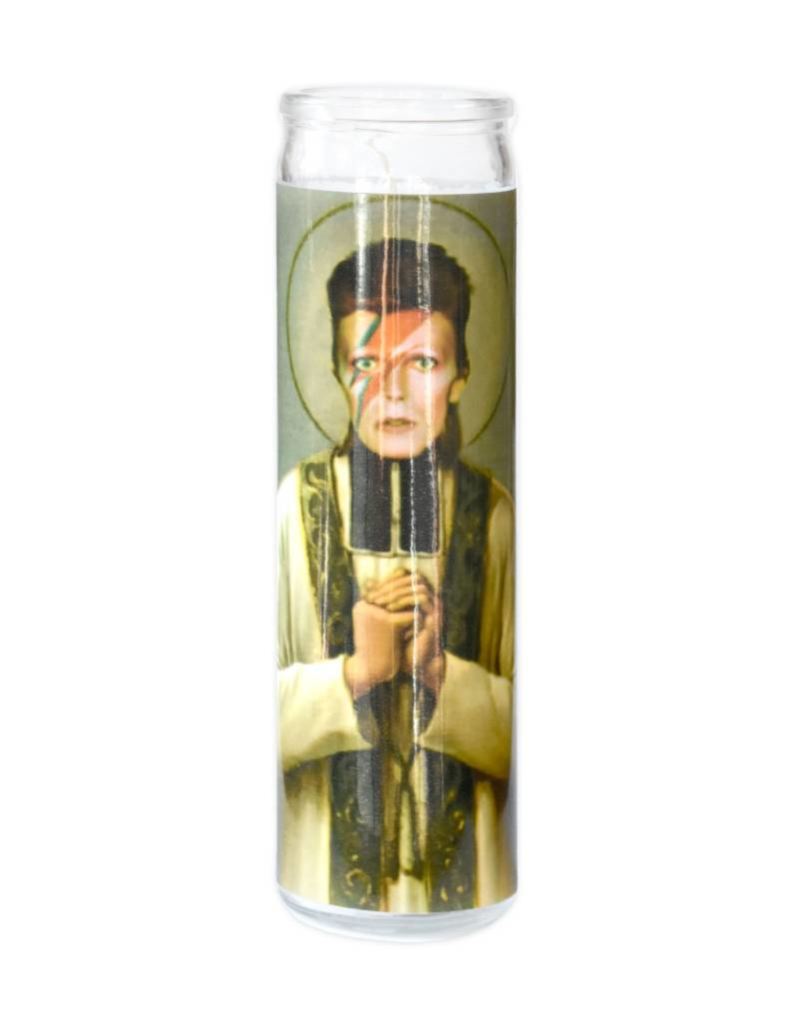 St. David Bowie Prayer Candle