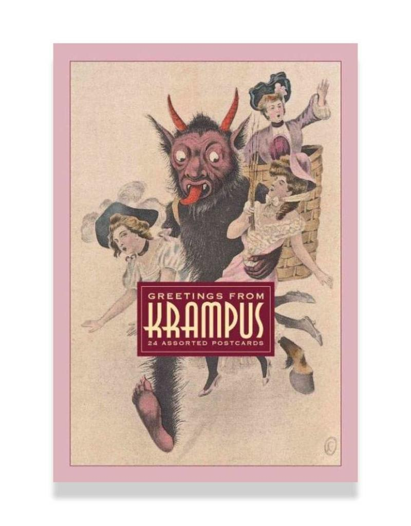 SCB Distributors Greetings from Krampus: Postcard Set