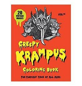 SCB Distributors Creepy Krampus Coloring Book