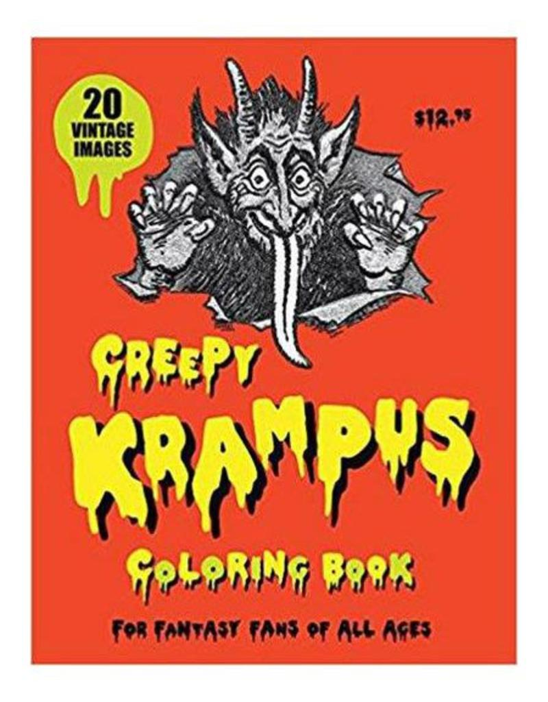 SCB Distributors Creepy Krampus Coloring Book