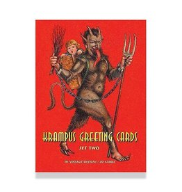 SCB Distributors Krampus Holiday Geetings Box Set No. 2
