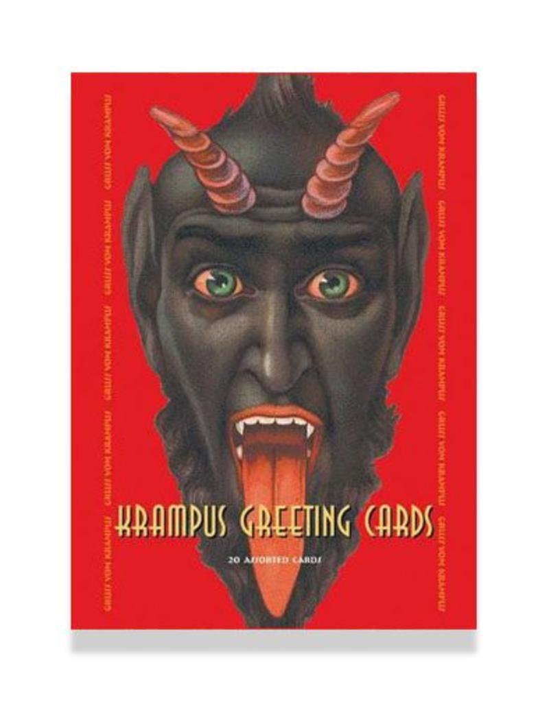 SCB Distributors Krampus Holiday Greetings Box Set