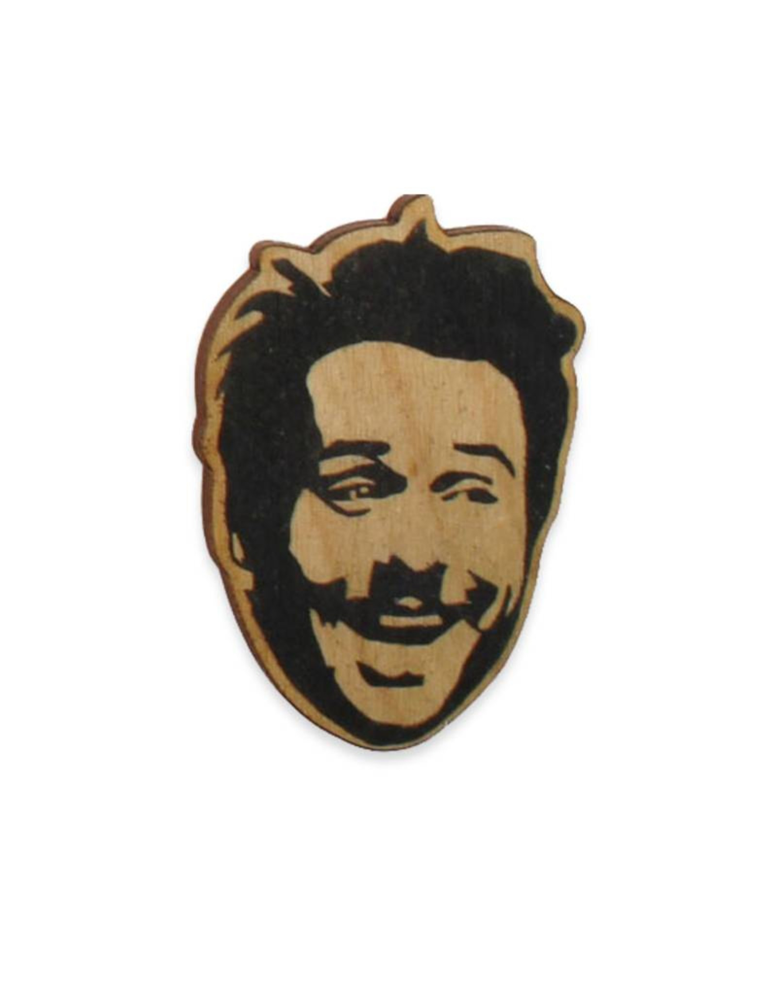 Charlie Day Wooden Pin
