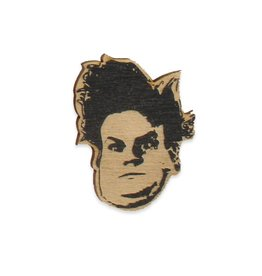 Chris Farley Wooden Pin