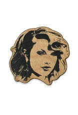 Taylor Swift Wooden Pin
