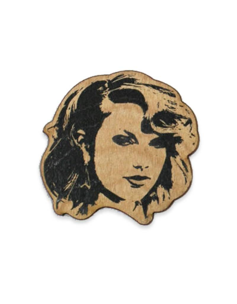 Letter Craft Taylor Swift Wooden Pin