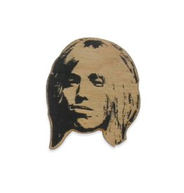 Letter Craft Tom Petty Wooden Magnet