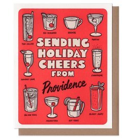 Lucky Horse Press Sending Holiday Cheers From Providence Greeting Card