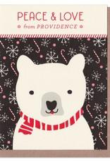 Peace & Love Holiday Card
