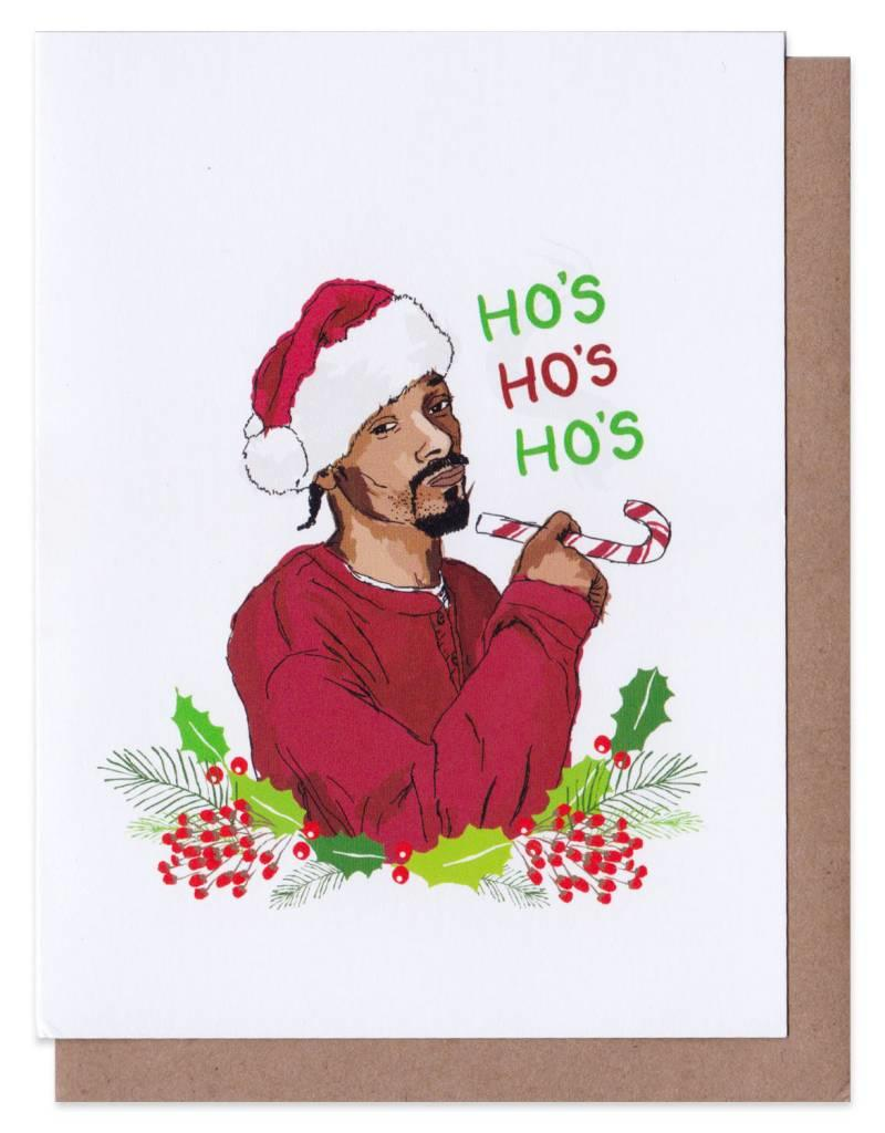 Snoop Dog Christmas Card - Home