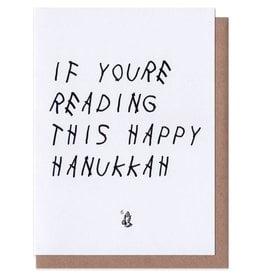 Drake Happy Hanukkah Christmas Card