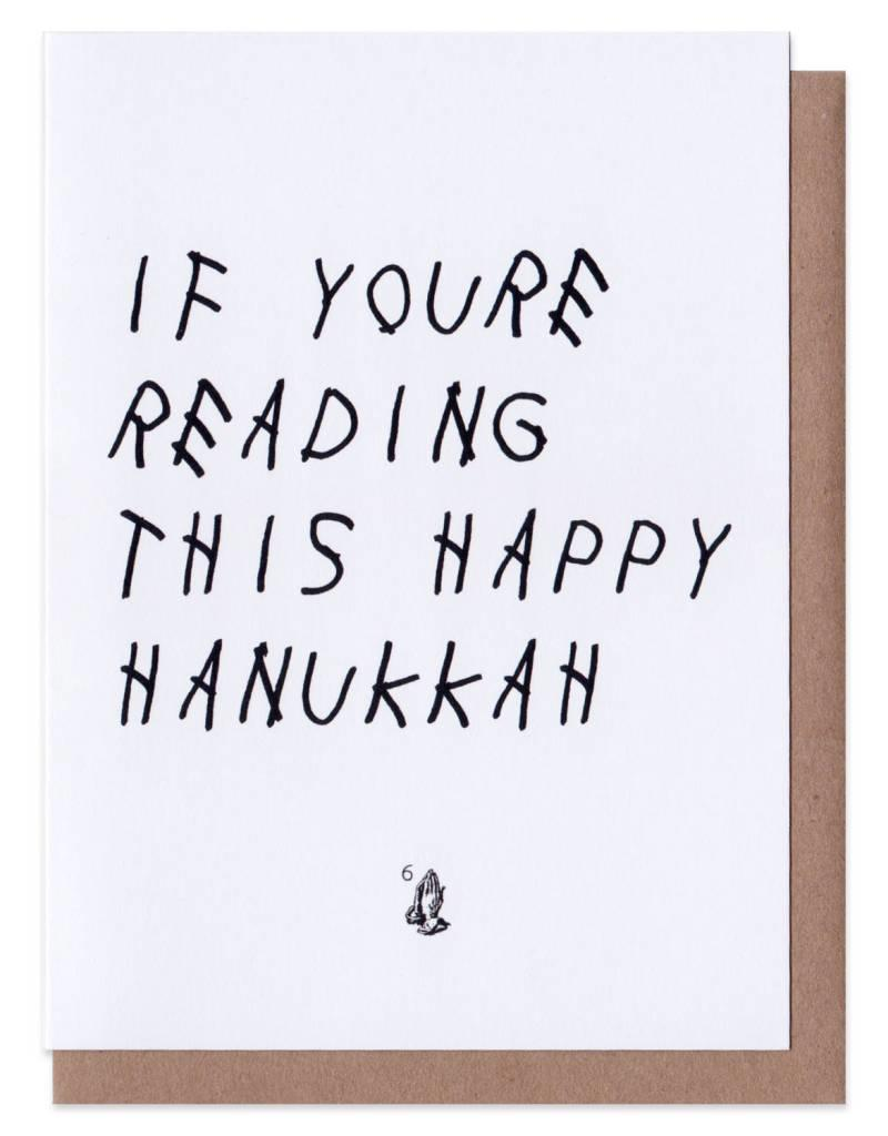 Waka Flocka Luke Drake Happy Hanukkah Christmas Card