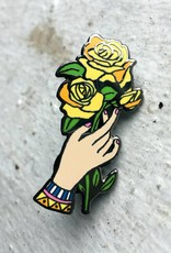 Nate Duval Yellow Rose Enamel Pin