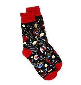 Nate Duval Abstract Ramen Socks