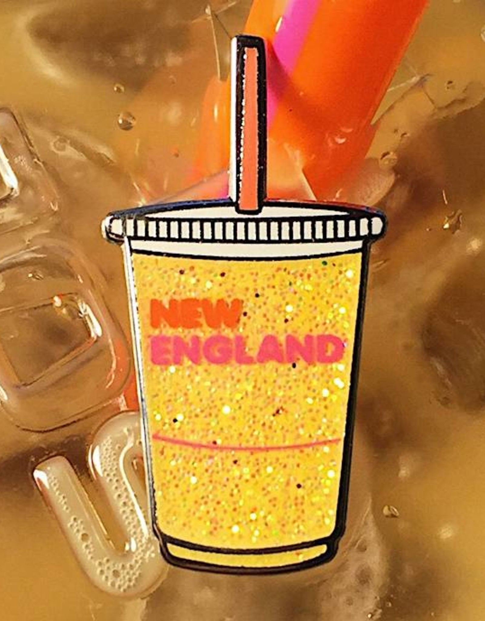 New England Drink Pin