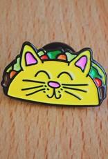 Nate Duval Taco Cat Pin