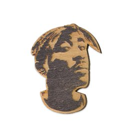 Letter Craft Tupac Wooden Magnet