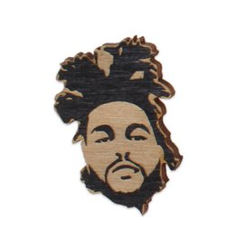 The Weeknd Wooden Magnet