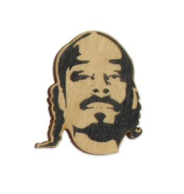 Letter Craft Snoop Wooden Magnet