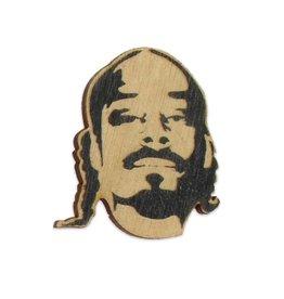 Snoop Wooden Magnet