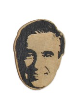 Mr. Rogers Wooden Magnet