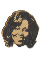 Letter Craft Michelle Obama Wooden Magnet