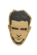 Letter Craft Justin Timberlake Wooden Magnet
