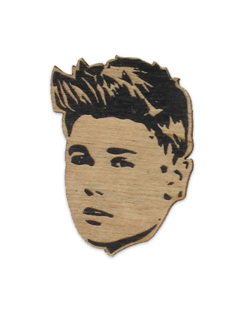 Letter Craft Justin Bieber Wooden Magnet