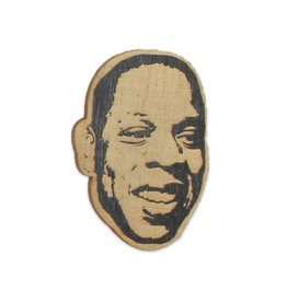 Jay Z Wooden Magnet
