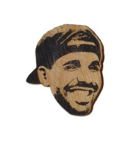 Letter Craft Drake Wooden Pin