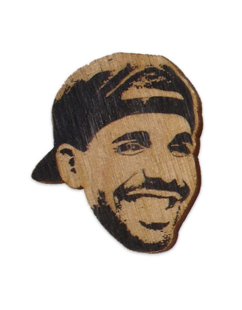Letter Craft Drake Wooden Magnet